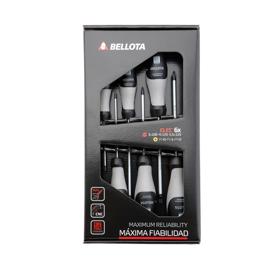 Imagen de Juego 6 destornilladores electricista Bellota 66291