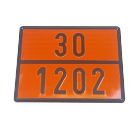 Imagen de Panel naranja mercancias peligrosas 30/1202