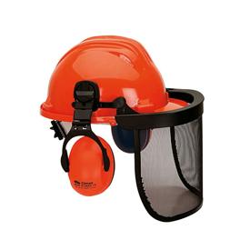 Imagen de Pantalla forestal con casco y orejeras Climax 437