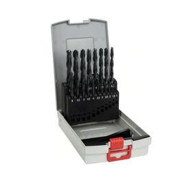 Imagen de Estuche 19 brocas metal Bosch HSS 1-10 mm