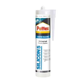 Imagen de Silicona multiusos Pattex 5 blanca 280 ml.