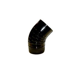 Imagen de Codo chimenea 45º negro
