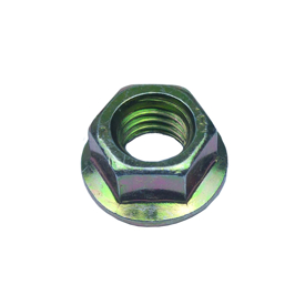 Imagen de Tuerca hexagonal autoblocante DIN 6923 8:8 bicromatada