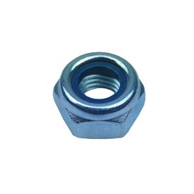 Imagen de Tuerca hexagonal autoblocante DIN 985 8:8 zincada