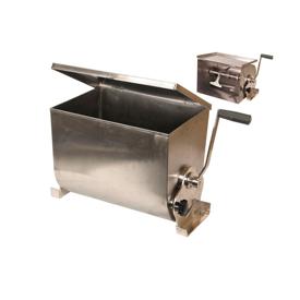 Imagen de Mezcladora de carne inoxidable manual Garhe