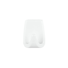 Imagen de Gancho Tesa rectangular blanco L