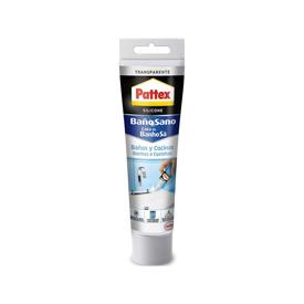 Imagen de Silicona transparente baño Pattex 50 ml.