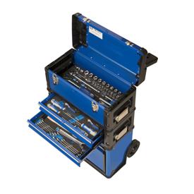 Imagen de Carro taller 3 cajas apilables Irimo 60 herramientas