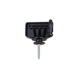 Imagen de Aislador pastor eléctrico Z-5 tirafondo ZAR (100 unidades)
