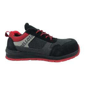 Imagen de Zapato seguridad S1P Bellota Street negro-rojo 72350