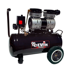 Imagen de Compresor silencioso Cevik PRO24SILENTX 24 litros