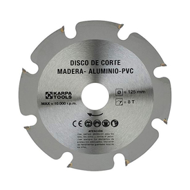Imagen de Disco amoladora corte madera Karpatools 230 mm