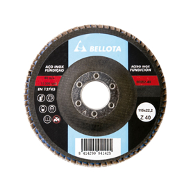 Imagen de Disco desbaste fibra vidrio Bellota 50512-40 115 mm