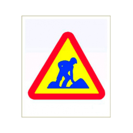 Imagen de Bolsa señalización peligro obras