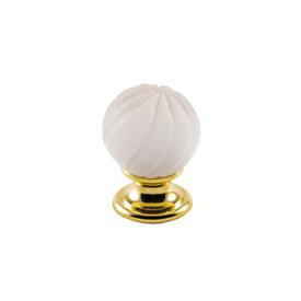 Imagen de Pomo dorado cristal mate Estamp 9912-111
