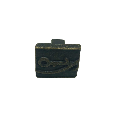Imagen de Pomo hierro bronce viejo Nesu