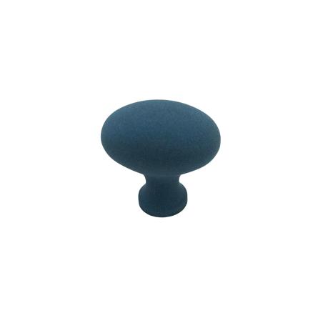 Imagen de Pomo azul arena ovalado Estamp 8672-067