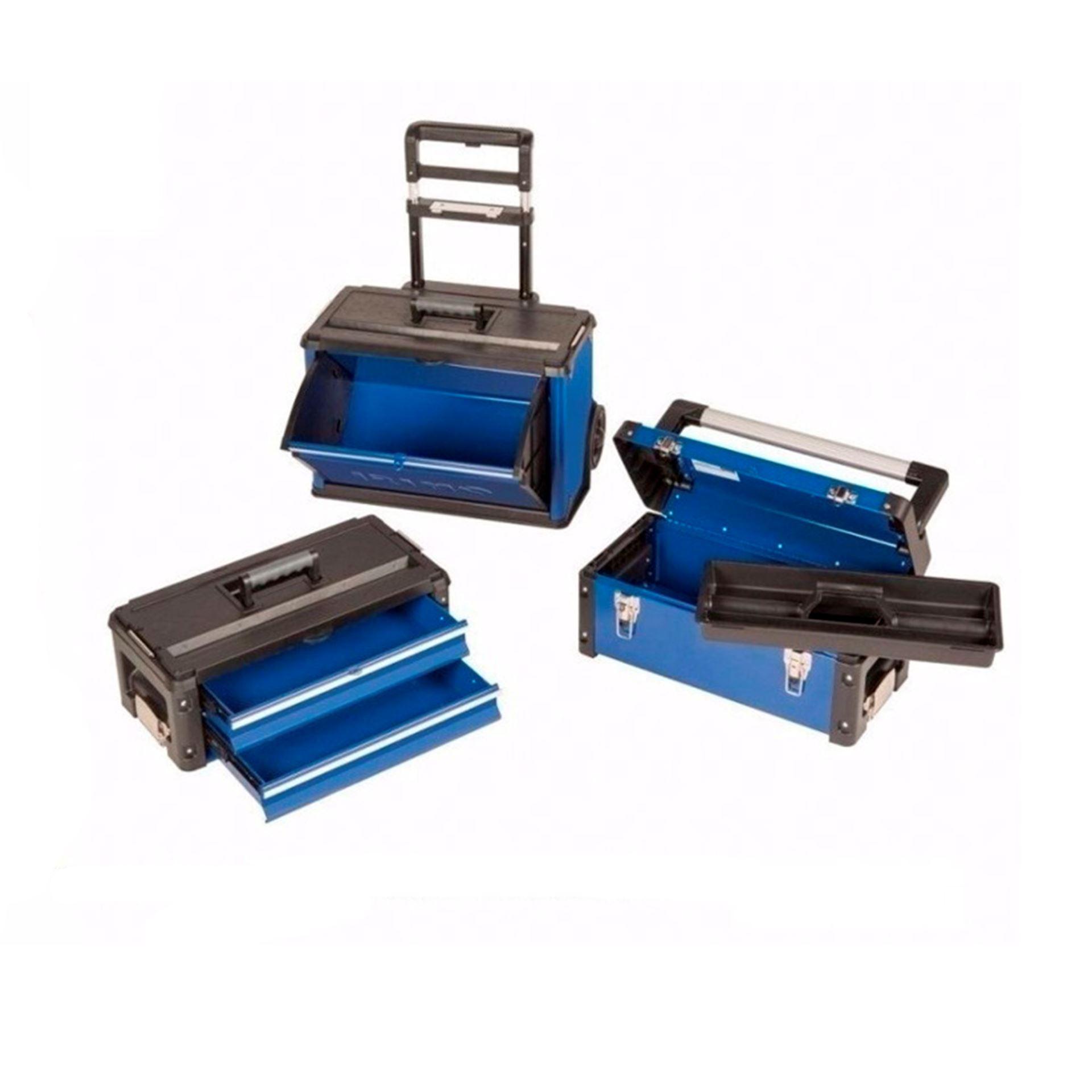 Imagen de Carro taller 3 cajas apilables Irimo