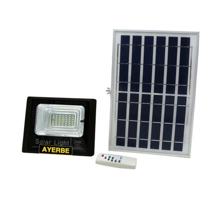 Imagen de Foco solar con mando 25 W Ayerbe