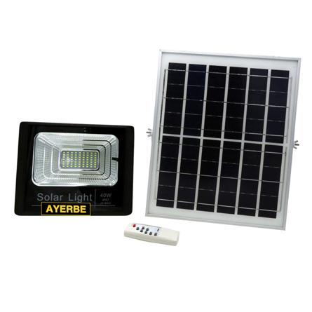 Imagen de Foco solar con mando 40 W Ayerbe