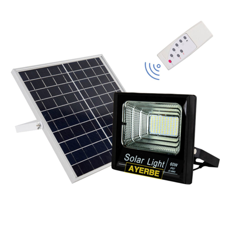 Imagen de Foco solar con mando 60 W Ayerbe