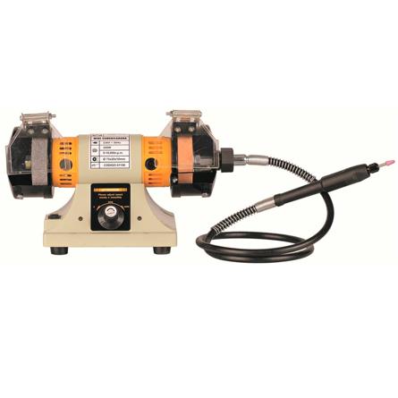 Imagen de Mini esmeriladora 75 mm con taladro 300 W Karpatools