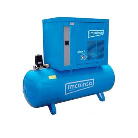 Imagen de Compresor insonorizado trifásico 5,5 HP 270 litros Imcoinsa 04853