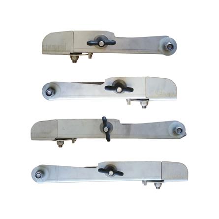 Imagen de Conjunto 4 paletas inoxidables adap. Amazone R21-28