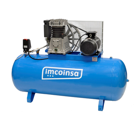 Imagen de Compresor correas 500 litros 10 HP Imcoinsa 0408