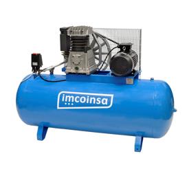 Imagen de Compresor correas 500 litros 7,5 HP Imcoinsa 0407