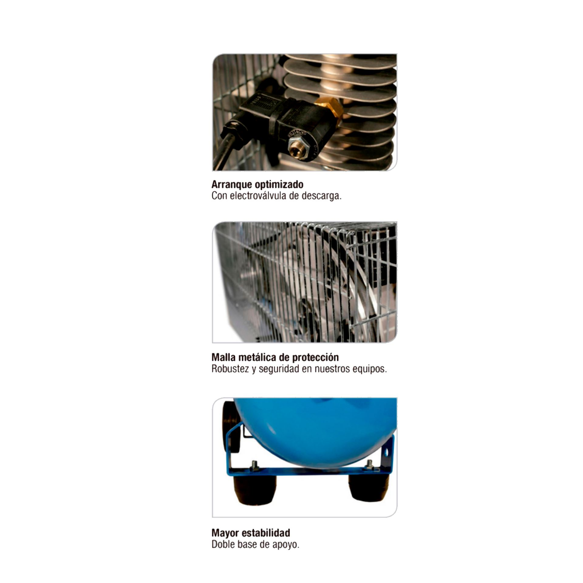 Imagen de Compresor portátil marcha en vacío 3 HP Imcoinsa Imgot 0433