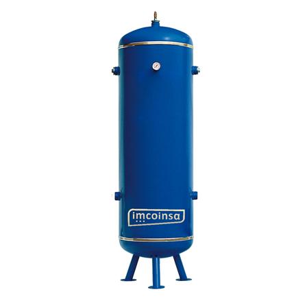 Imagen de Calderín vertical aire comprimido-nitrógeno 500 litros 11 bar Imcoinsa