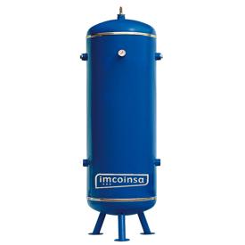 Imagen de Calderín vertical aire comprimido-nitrógeno 900 litros 11 bar Imcoinsa