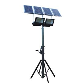 Imagen de Focos led placa solar con trípode 400 W Ayerbe