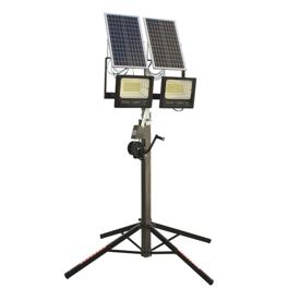 Imagen de Focos led placa solar con trípode 200 W Ayerbe