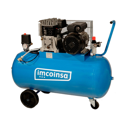 Imagen de Compresor correas 3HP 200 litros Imcoinsa 400V 04434T