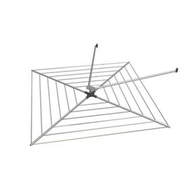 Imagen de Tendedero exterior aluminio Eolo giratorio 2 brazos