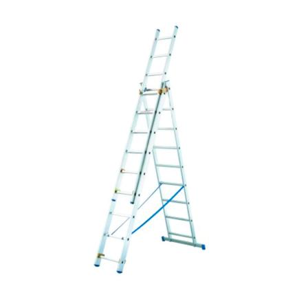 Imagen de Escalera aluminio transformable 3 tramos Tubesca Starline
