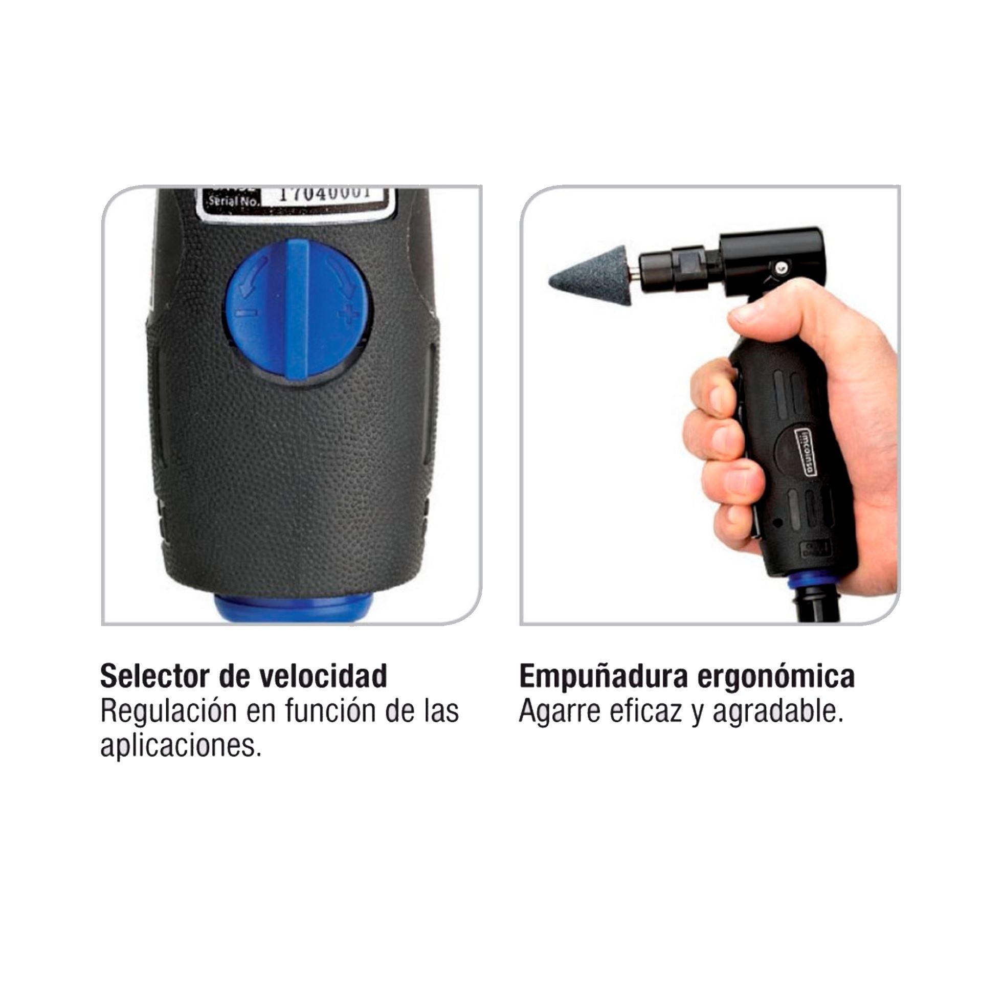 Imagen de Mini amoladora neumática angular Imcoinsa 0A452