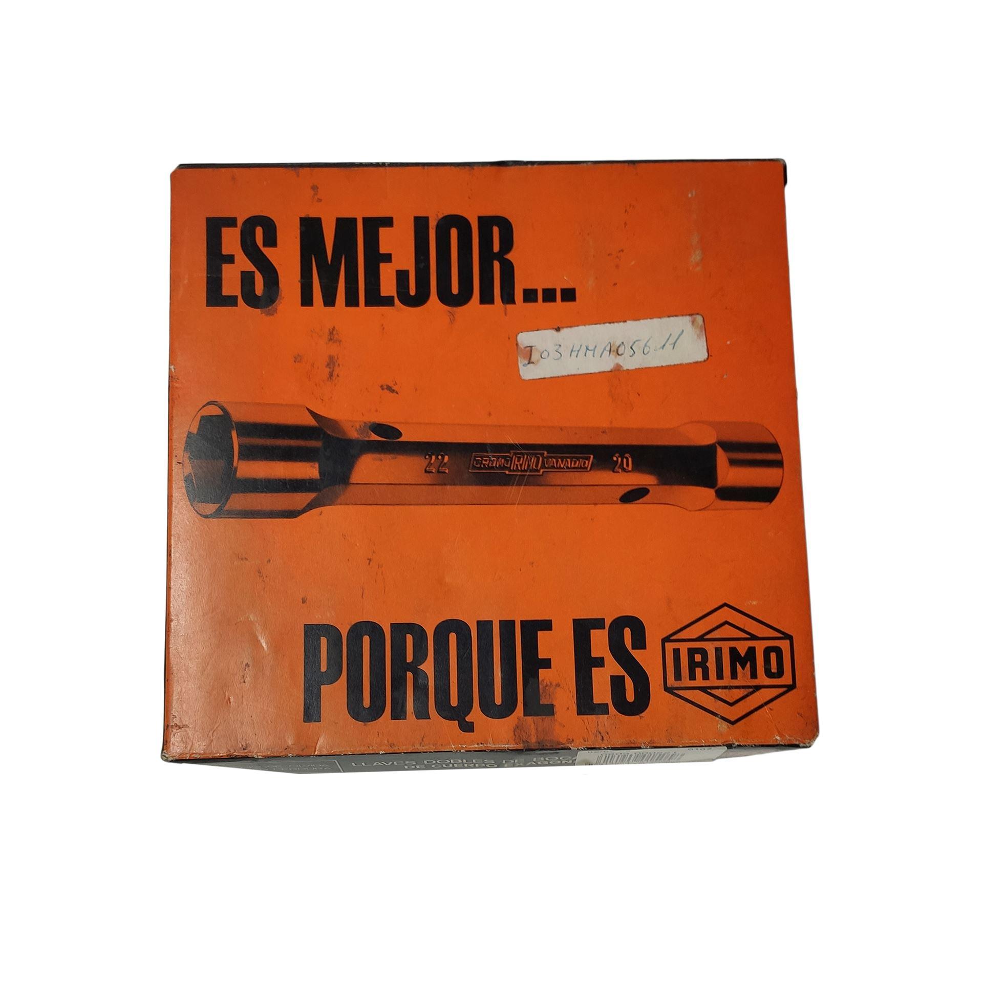 Imagen de Juego 6 llaves de tubo 6-17 Irimo