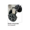 Imagen de Aspirador industrial inox 3.600W Imcoinsa 2R633