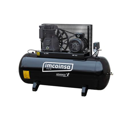 Imagen de Compresor de pistón 270 litros 5,5 HP Imcoinsa Advance 04A05