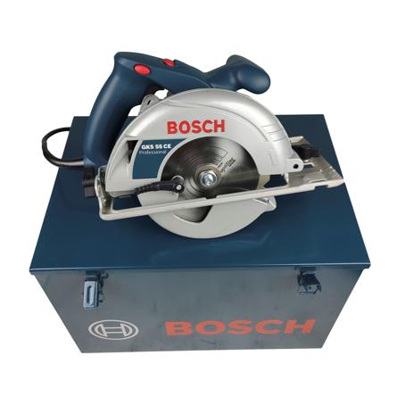 Imagen de Sierra circular Bosch GKS 55 CE + maletín metálico