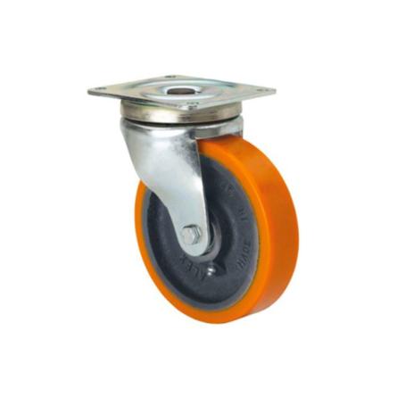 Imagen de Rueda giratoria poliuretano Alex 55-HU 150 mm 800 Kg sin freno