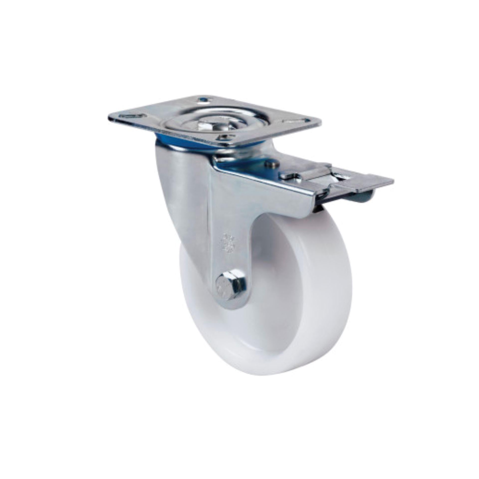 Imagen de Rueda giratoria poliamix Alex ZV-UT 150 mm 350 kg