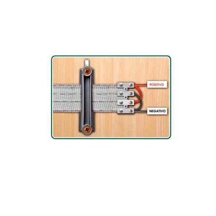 Imagen de Aislador cinta para pastor eléctrico caracoles ZAR PA439