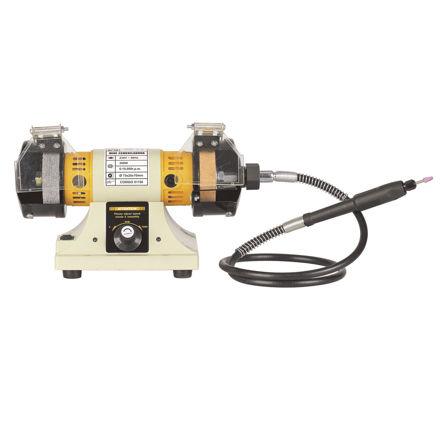 Imagen de Mini esmeriladora con taladro 75 mm 300W Karpatools